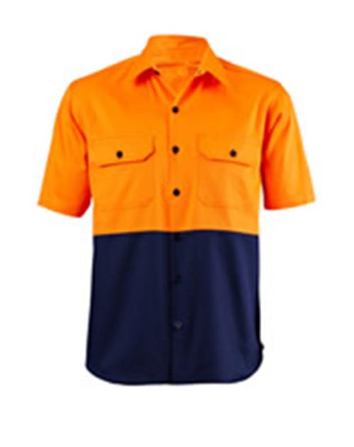 S/S Two Tone Hi Vis Shirt