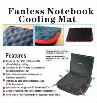 electricity free self cool fashion design laptop thermal cooling pad