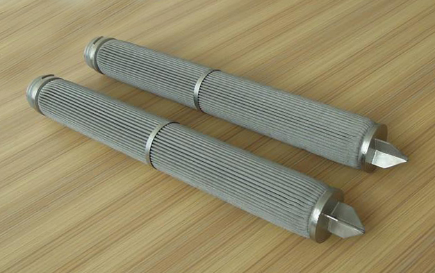 stainless steel pleated filter element for filtration system