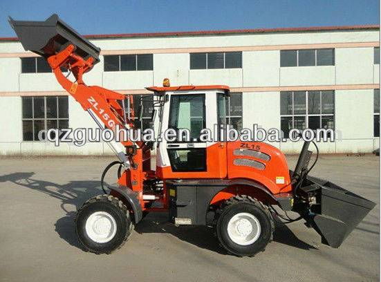1.0 ton CE bale clamps/grab/grapple loader
