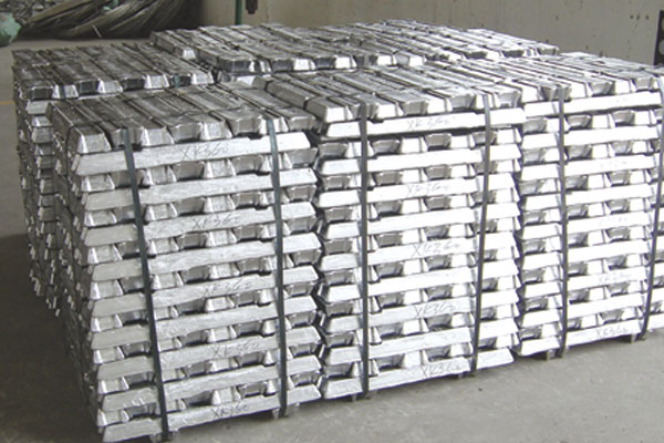 Raw metal ingot 99.80% aluminum ingot with high purity