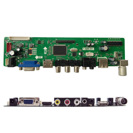 26 Inch LED LCD TV Decoder Board with USB Multimedia Function