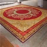 pure handmade glue-back carpet