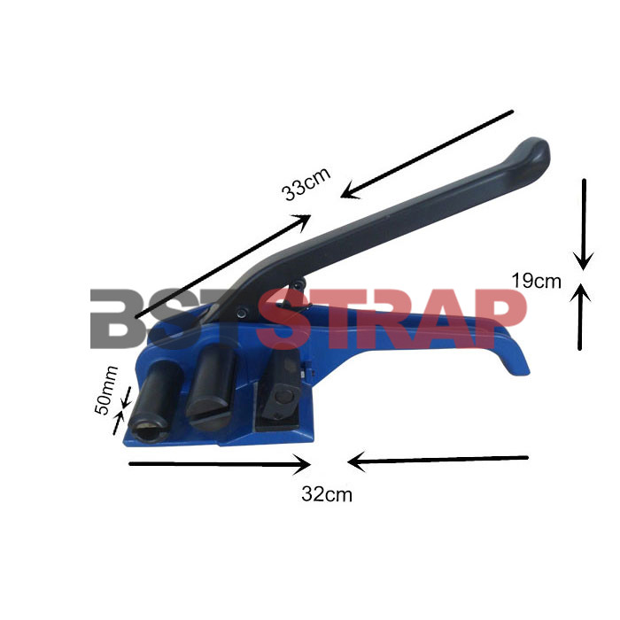 BST For composite strap steel maual packing machine strapping tensioner