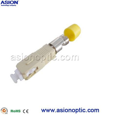 Multi mode SC TO FC Hybrid fiber optic adapter