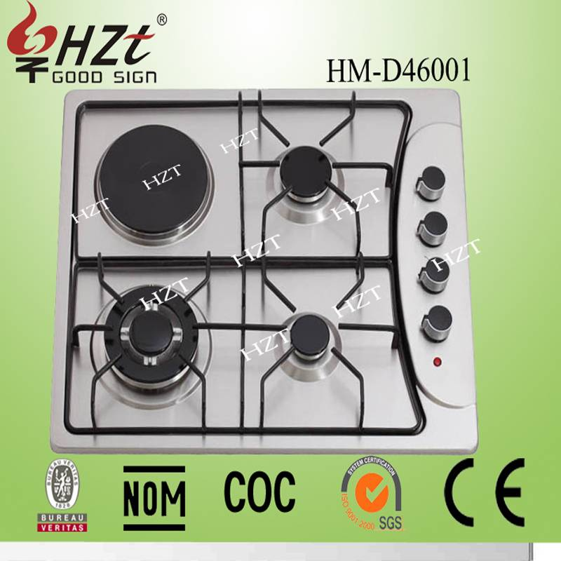 2015 China supplier gas and electrical cooktops