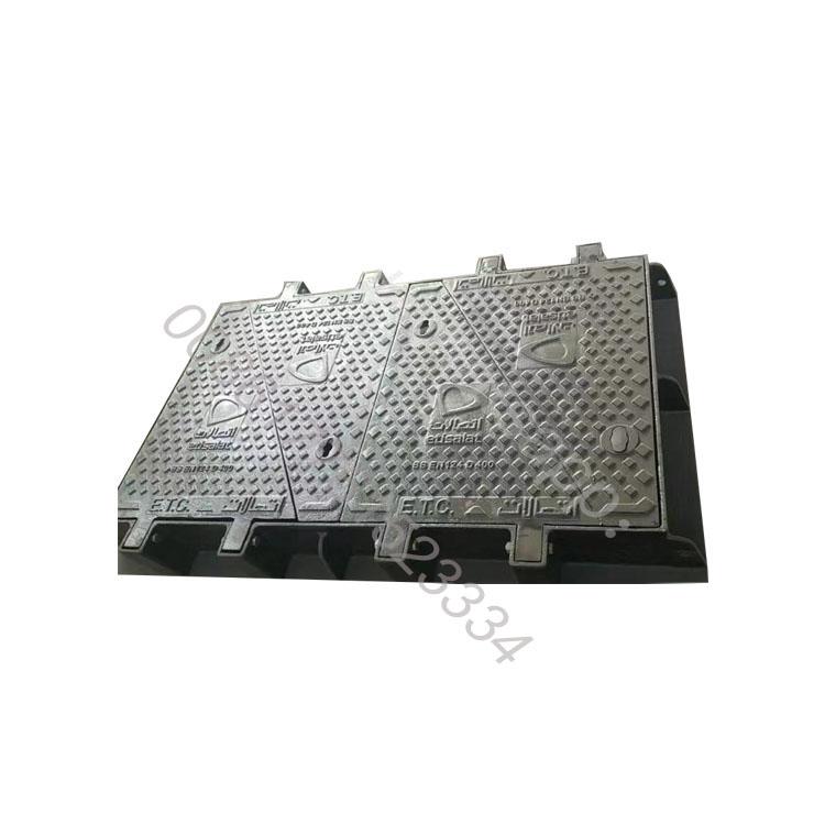 Professional Manufacture Ductile D-400 Cast Iron Manhole Cover