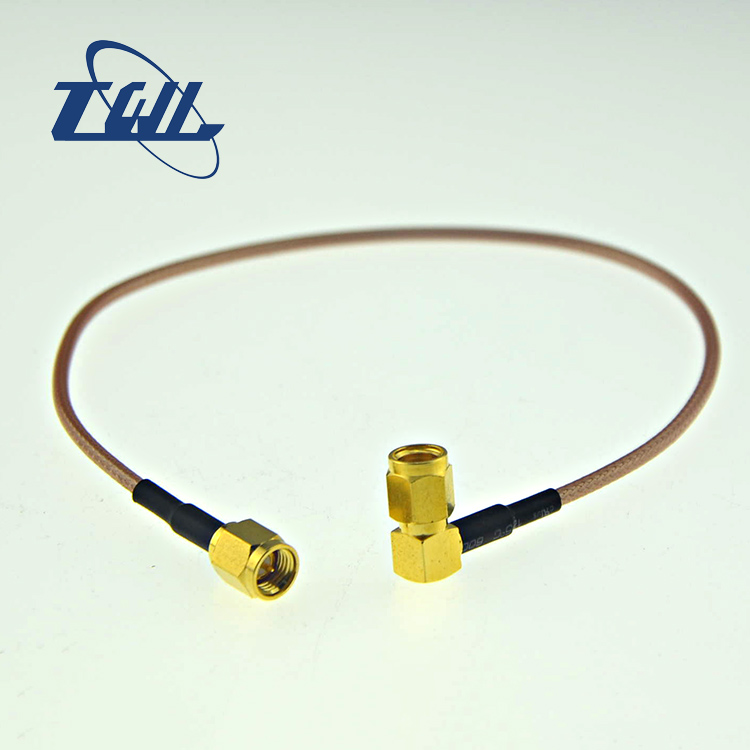 sma female connector with rg316 lmr400 oem rf cable assembly jumper cable