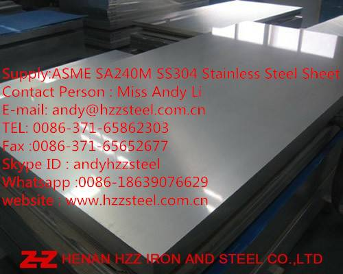 SS304,SS304L,S30400,S30403,Stainless Steel Plate