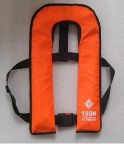 Inflating life jacket
