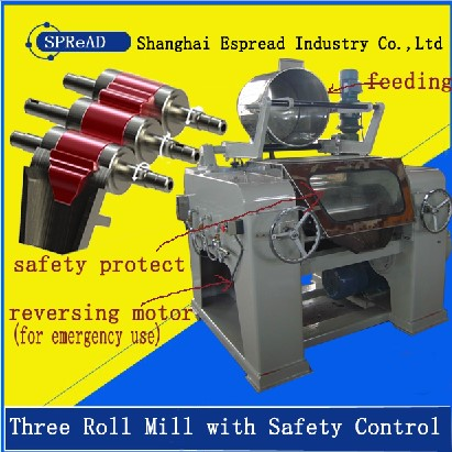 Three Roll Mill for printing ink