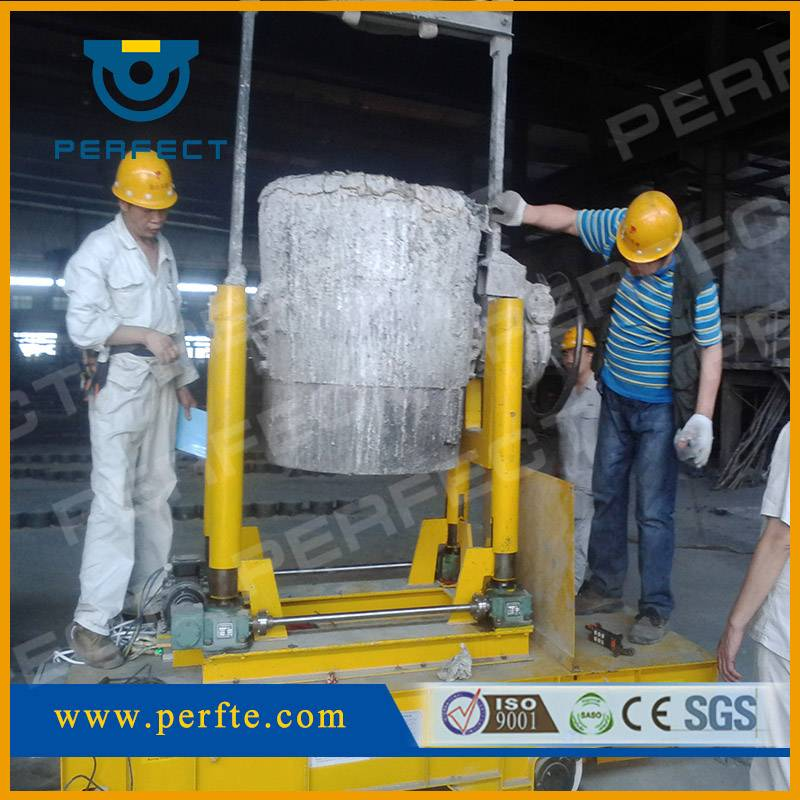 Handling Vehicle, Cable Powered Utility Steel Ladle Car