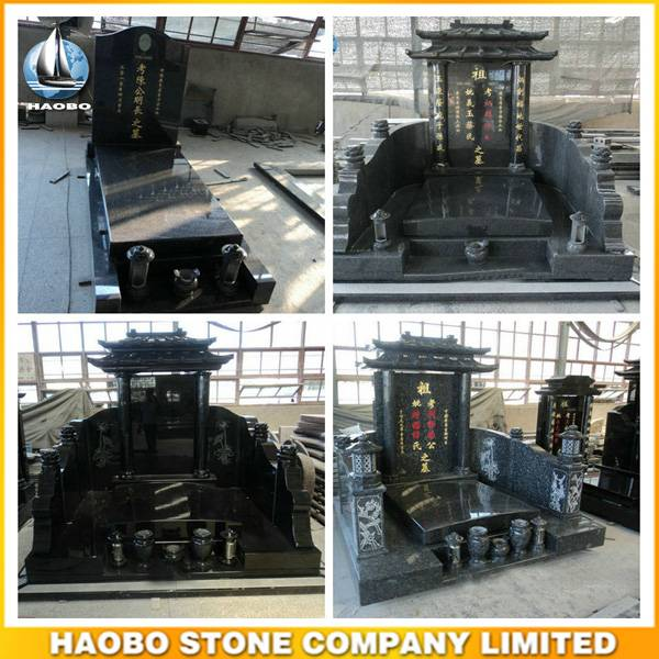 Chinese Monument for Sale Asian Style Gravestone