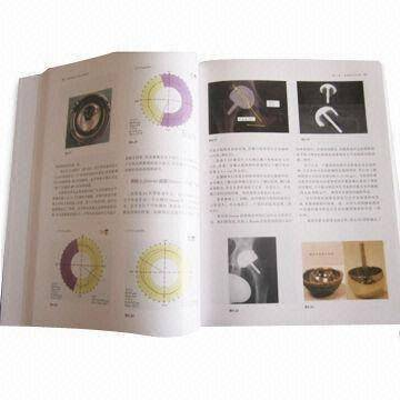 Book Printing for Hardcover Book, Round Back with Glossy Lamination, Head and Tail Band