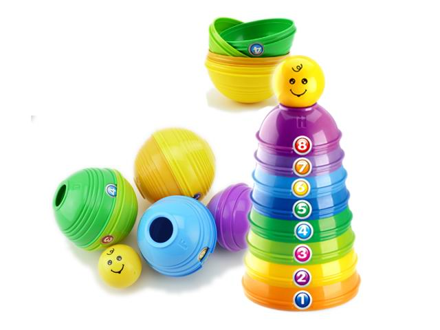 Funny toys stacked cups toys