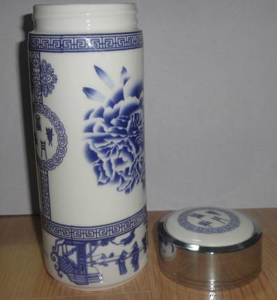 Blue and White Porcelain Mugs