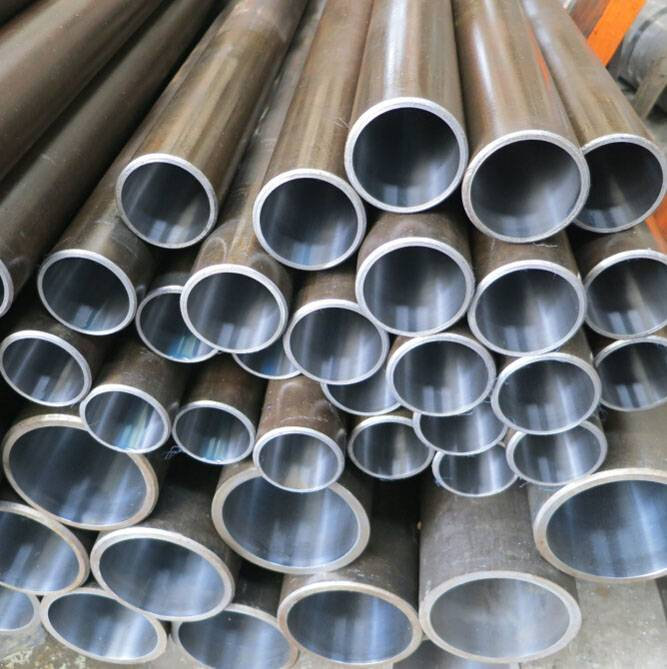 seamless precision cold drawn steel pipe honed tube for hydraulic cylinder