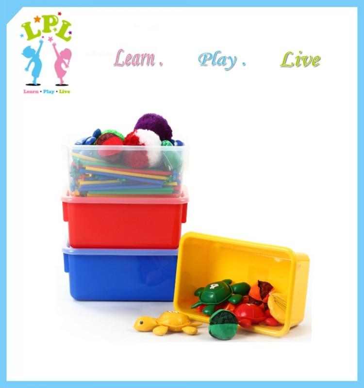 Low price new PP green plastic toy plastic storage box