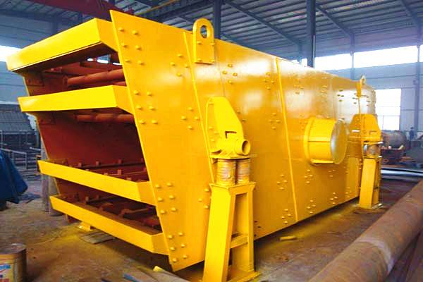 High efficiency low noise circular vibrating screen,sand vibrating screen