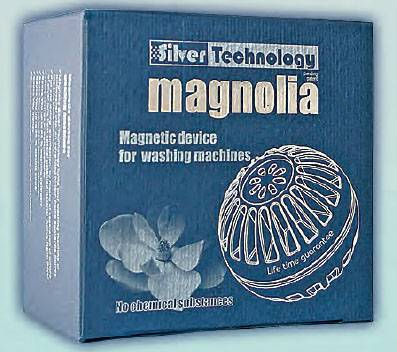 MAGNOLIA Silver -	Magnetic Device for Washing