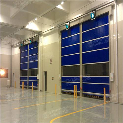 Dynamical roll up door