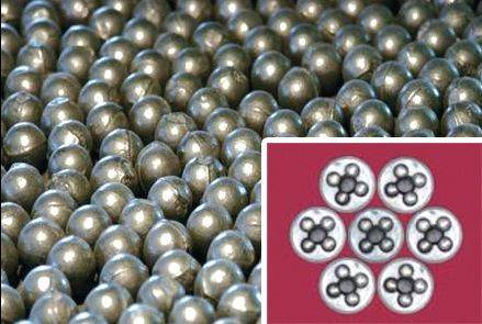 High Cast Chrome Grinding Balls For Cement Plants