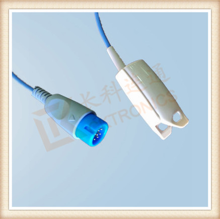 BIOLIGHT 12Pin Adult Finger Clip SpO2 Sensor