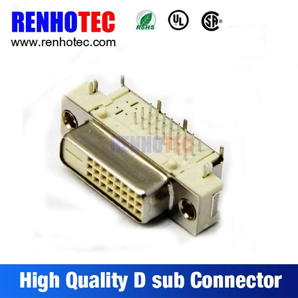 Produce in China VGA PCB Mount Straight Solder Negative Pole D-Sub Connector