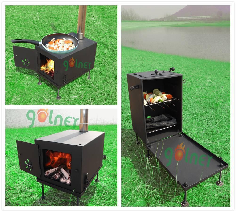 multifunctional camping stove/bbq stove