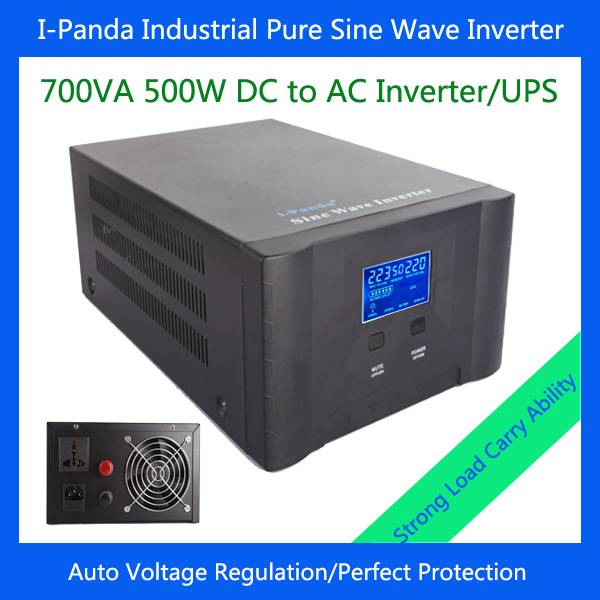 New 500w stable output power inverter with charger AVR 500W inverter pure sine wave for home solar s