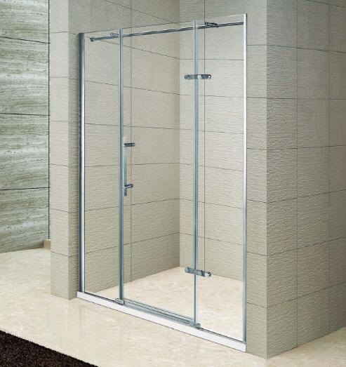 304 Stainless Steel Hinged Cheapest Shower Enclosure (Kd3105)