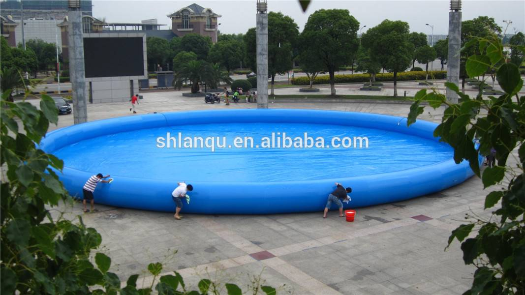 Outdoor Giant water pool inflatable swimming pool