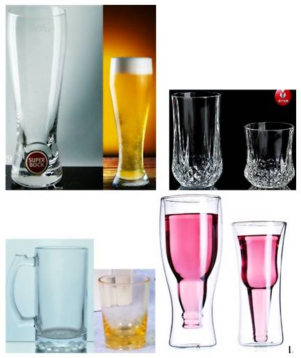 Glass Beer Mug, Wine Glass Crystal Glasses, Water Glass, Fruit Cup, Vacuum Flask