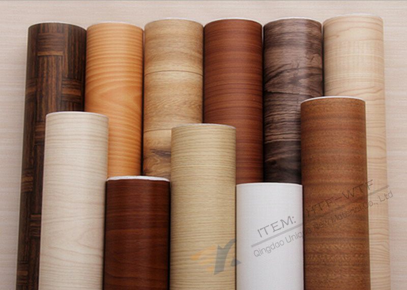 1280mm WPC Foam Board Used Wood Grain Design Heat Transfer Film