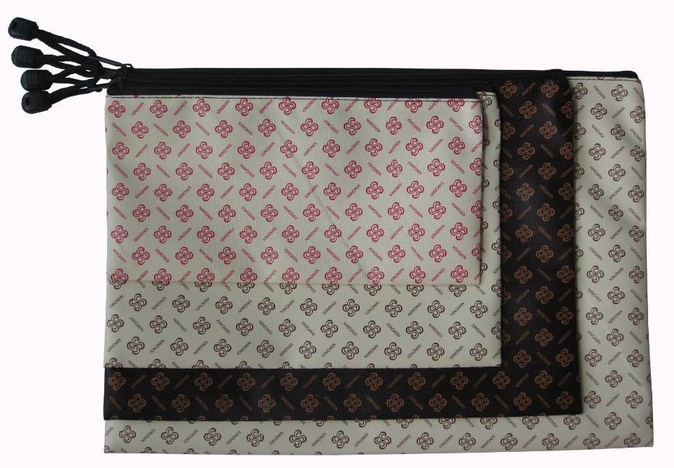 S Pattern leather bag