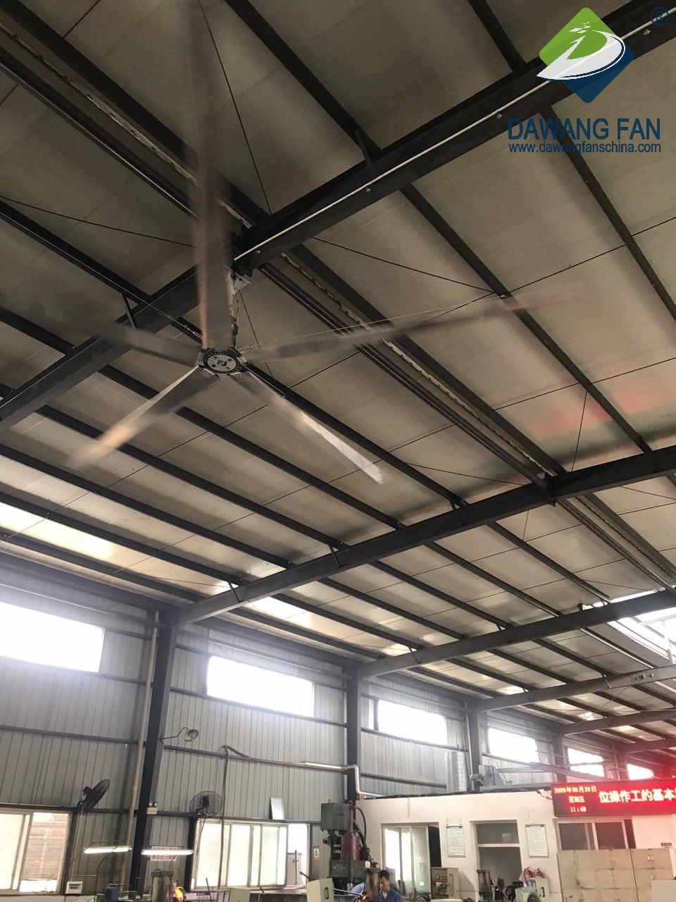 Low-Consumption High-Efficiency Large hvls Ventilation Industrial Fan