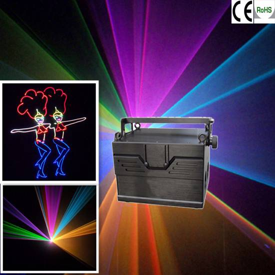 1.9W RGB Stage laser light