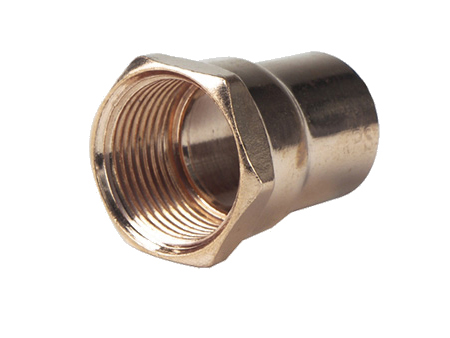 Copper Female Adaptor C x F (copper fitting, copper adaptor)