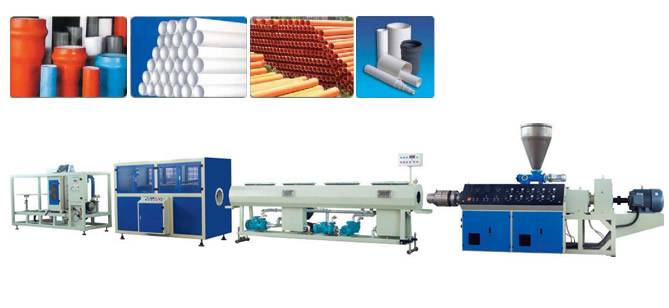 2''-4'' PVC pipe production line