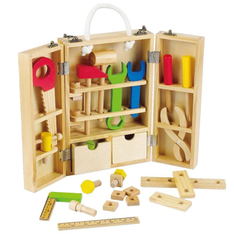 Wooden Carpenters Set