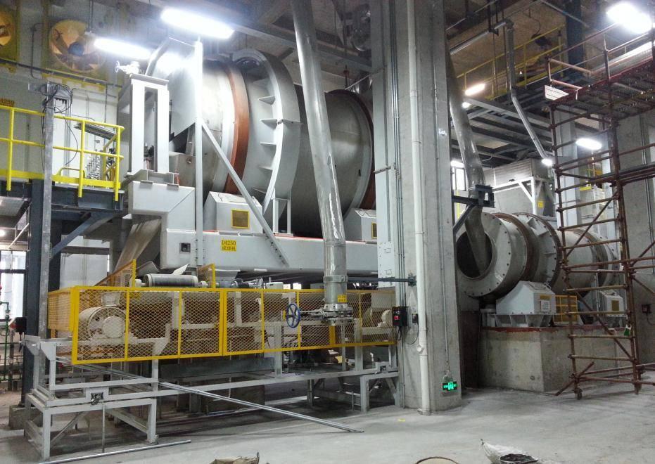 Rotary Granulating Machine System