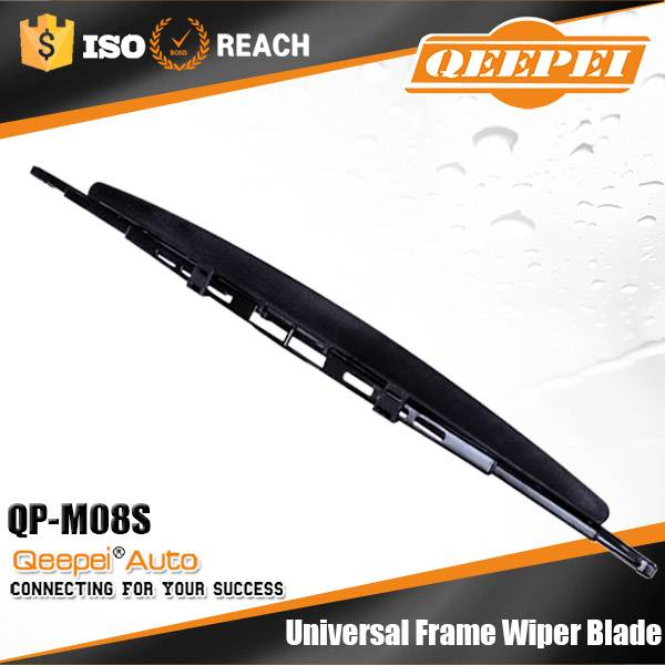 Crazing selling top quality durable u hook metal auto glass wiper blad spoiler type conventional wip