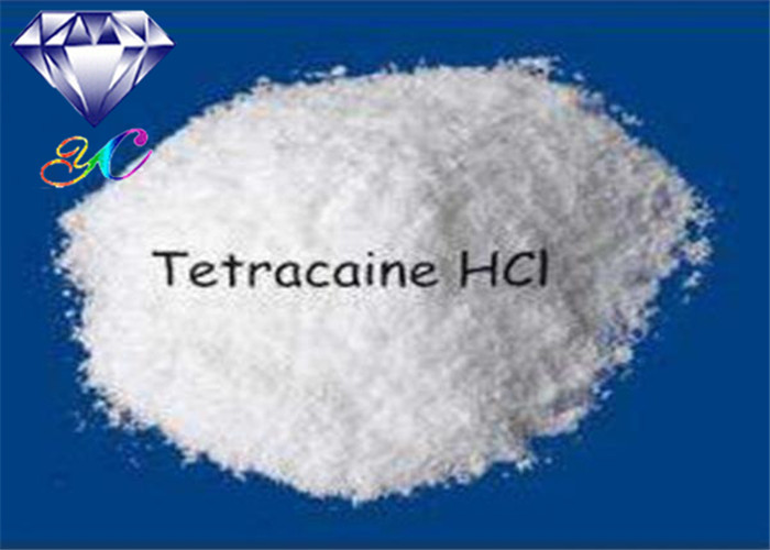 Hot Selling Local Anesthetical Drugs Tetracaine / Tetracaine HCl CAS 94-24-6 for Pain Killer