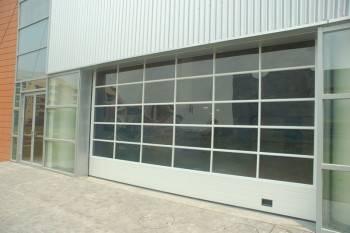 Transparent sliding up door, fast door, high speed door, pvc door