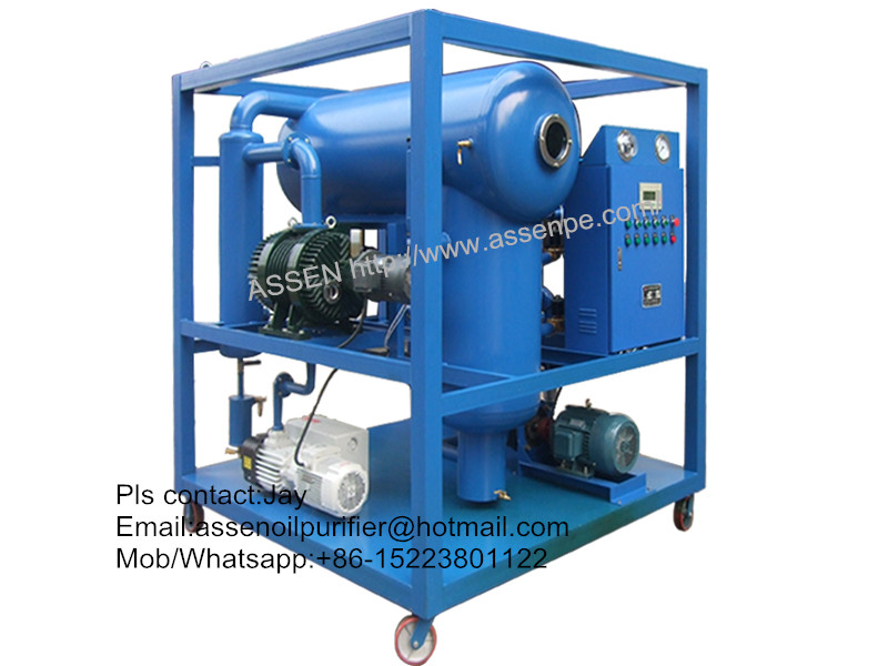 PLC Fully Automatic type Transformer Oil Filtration Plant,Oil Purifier machine