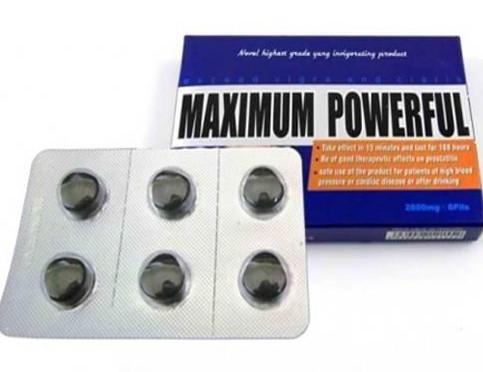 MAXIMUM POWERFUL Male Enhancement Pills