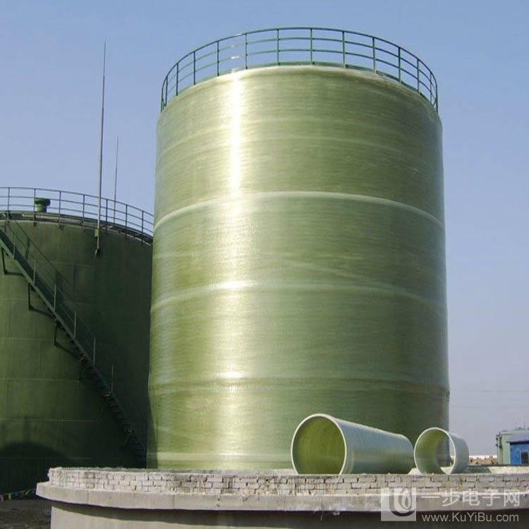 FRP/GRP/Fiberglass Vertical Chemical Storage Tank (1-20000M3)