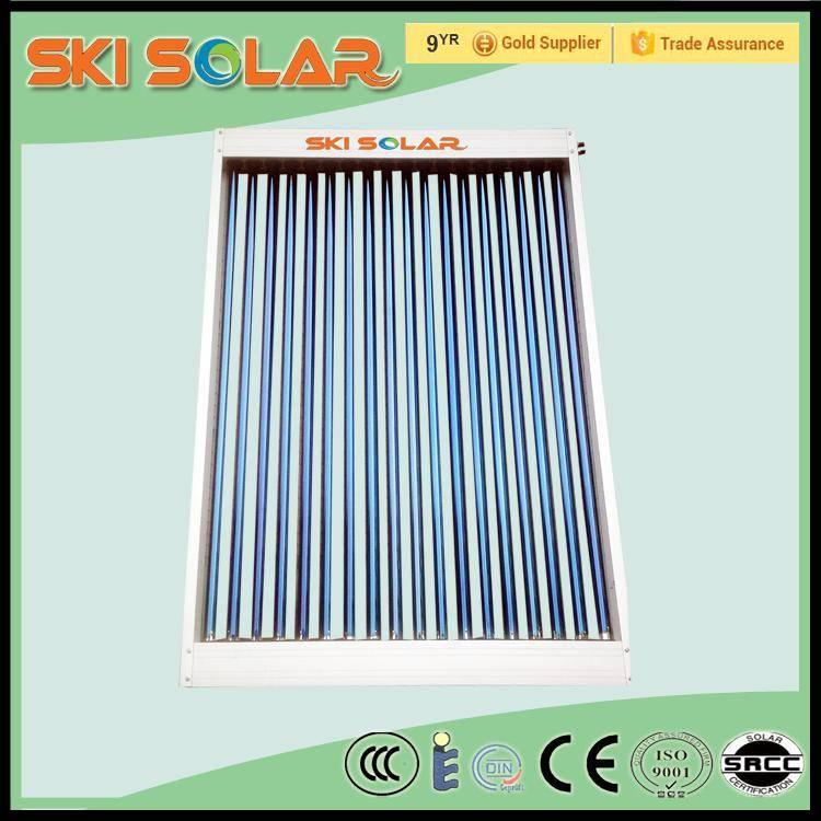 2015 factory wholesale high heat rate U pipe parabolic trough solar collectors , SKI-CU, ISO&CE