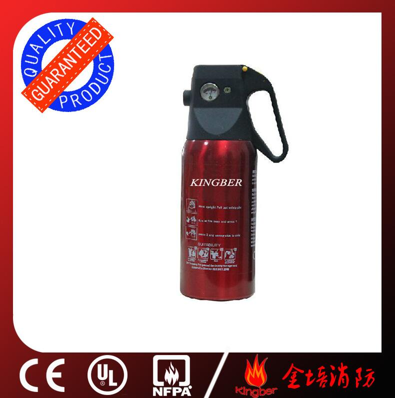 1KG Portable Aluminum Alloy ABC40 Dry Powder Fire Extinguisher for Vehicle Using with ISO Approval