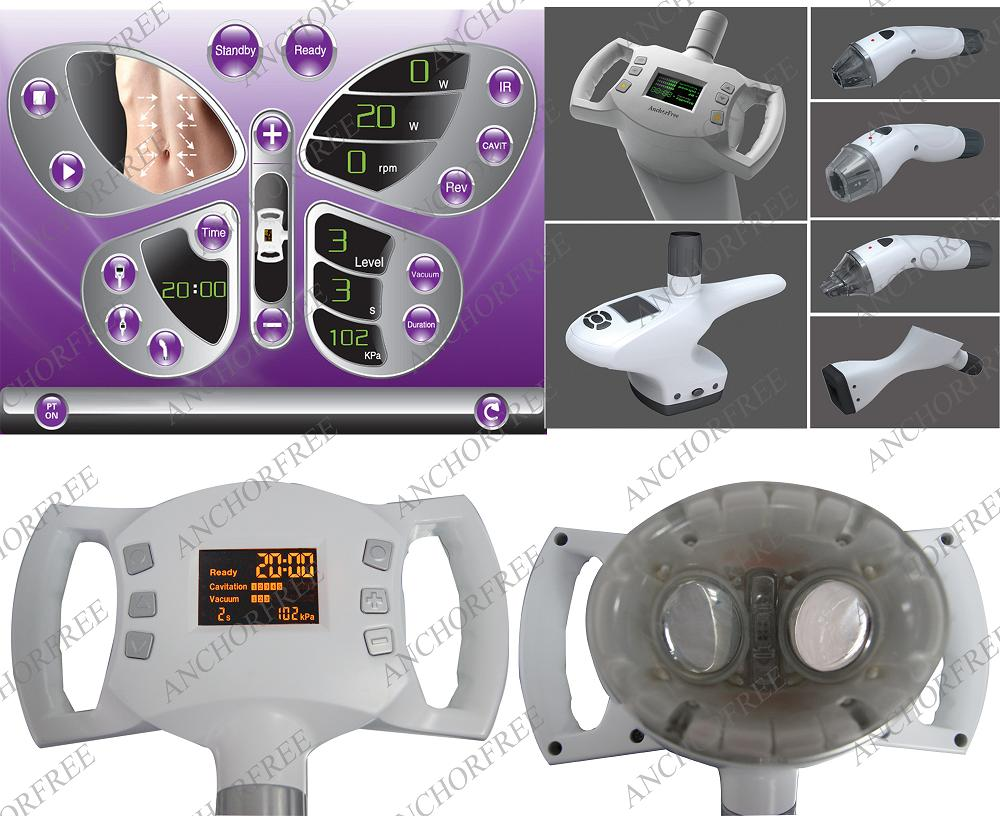 Absolutely Safest and Multifunctional  Vaccum plus Cavitation beauty equipment